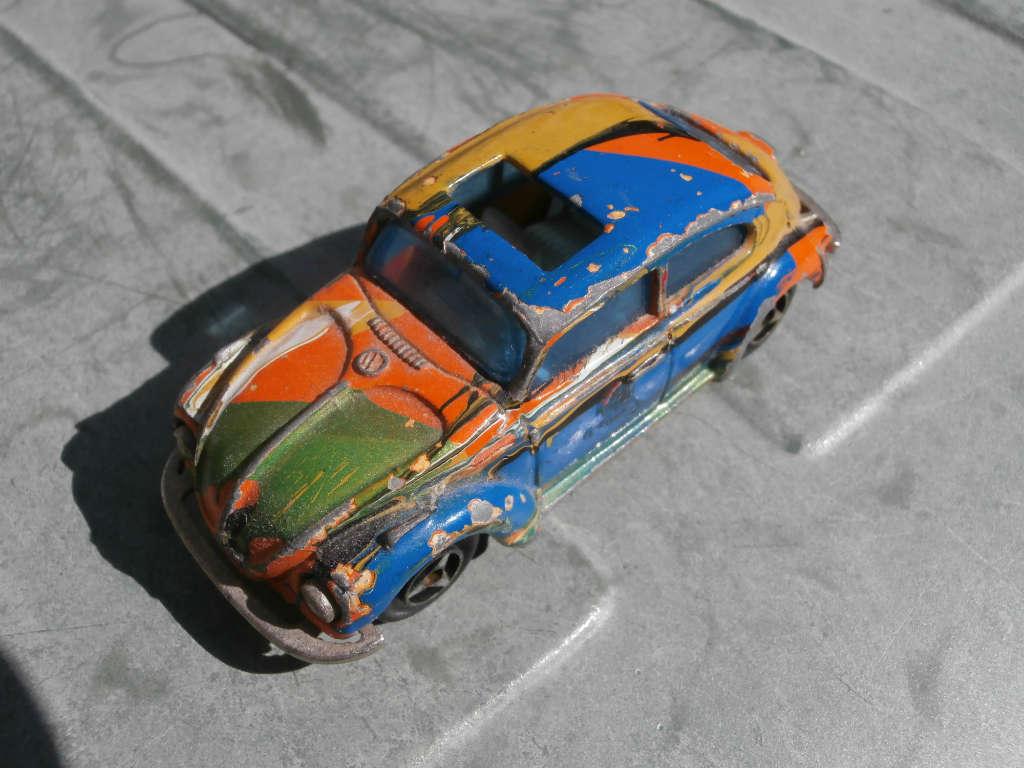 Diecast Model Car Restoration Is it….ART?