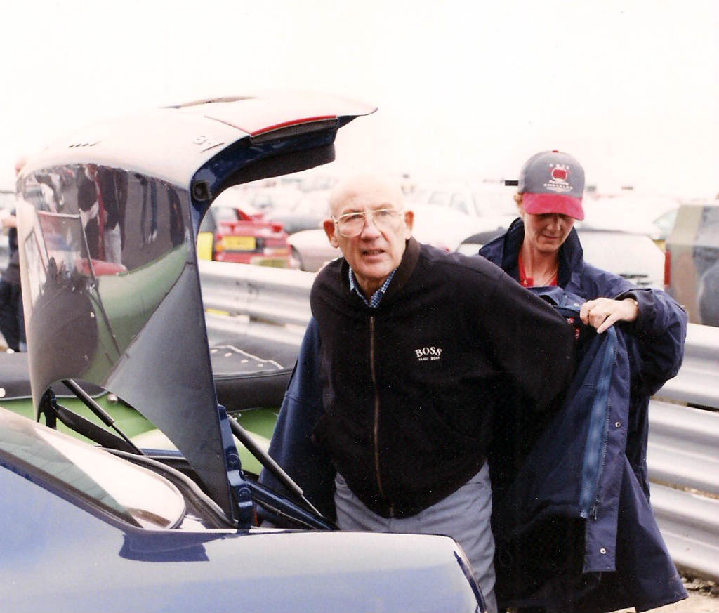 The Day I Met………… Stirling Moss!