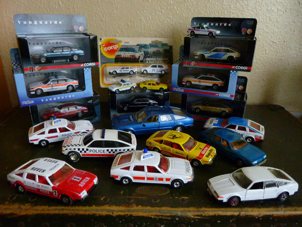The Diecast Rover SD1 Post You Always Wanted to Read!
