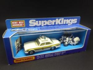 Matchbox Superkings K-66 Jaguar XJ12 Police Patrol