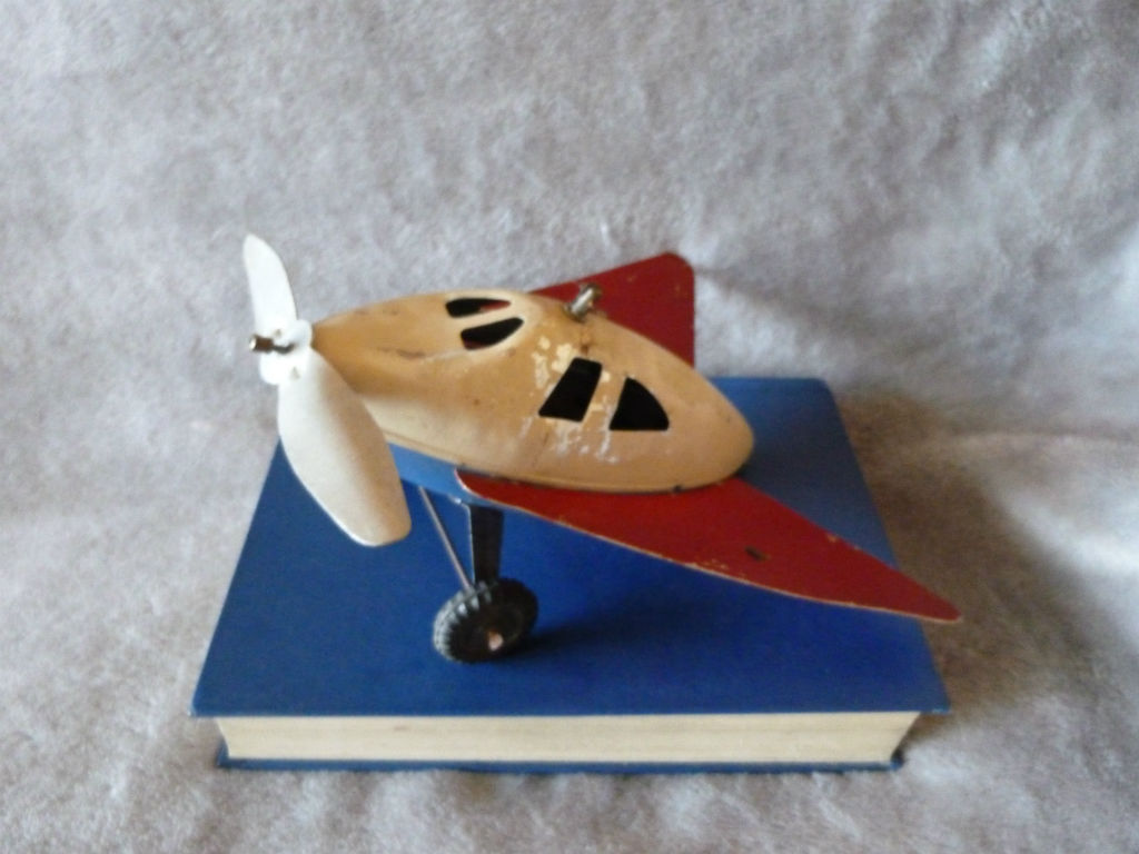 Can you identify this Mystery Tinplate Toy Plane?