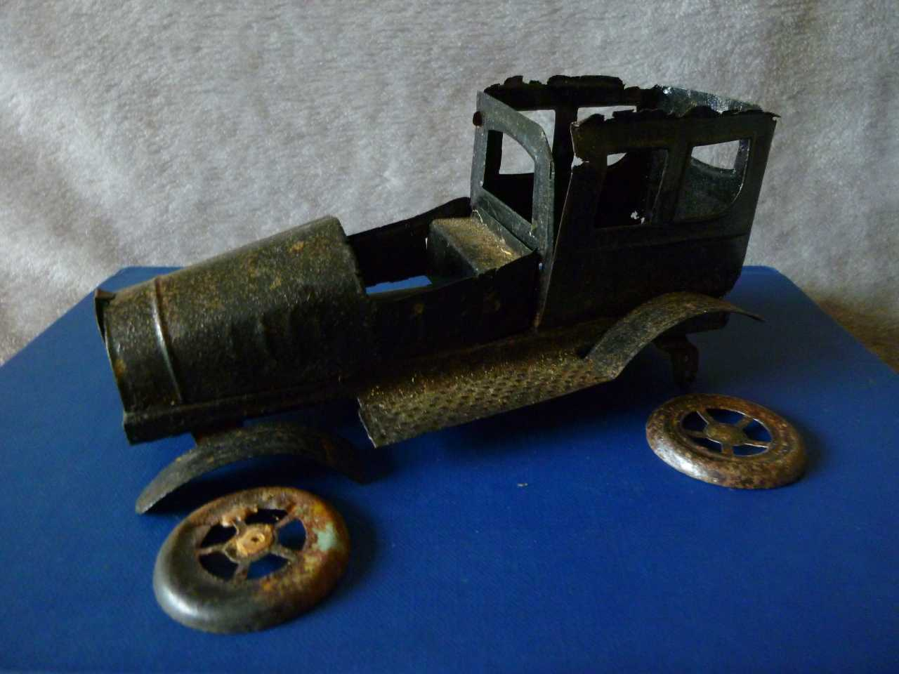 Unearthing an Early Tinplate Toy Discovery