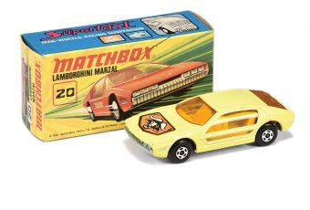 Matchbox Superfast 20a Lamborghini Marzal Broomstick Issue