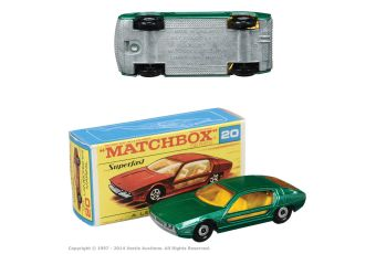 Matchbox Superfast No.20a Lamborghini Marzal Emerald