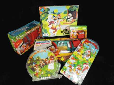 Vintage Wombles games