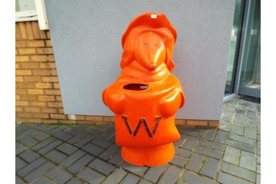 A Wombles rubbish bin!