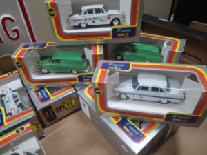 Russian Diecast Model Cars