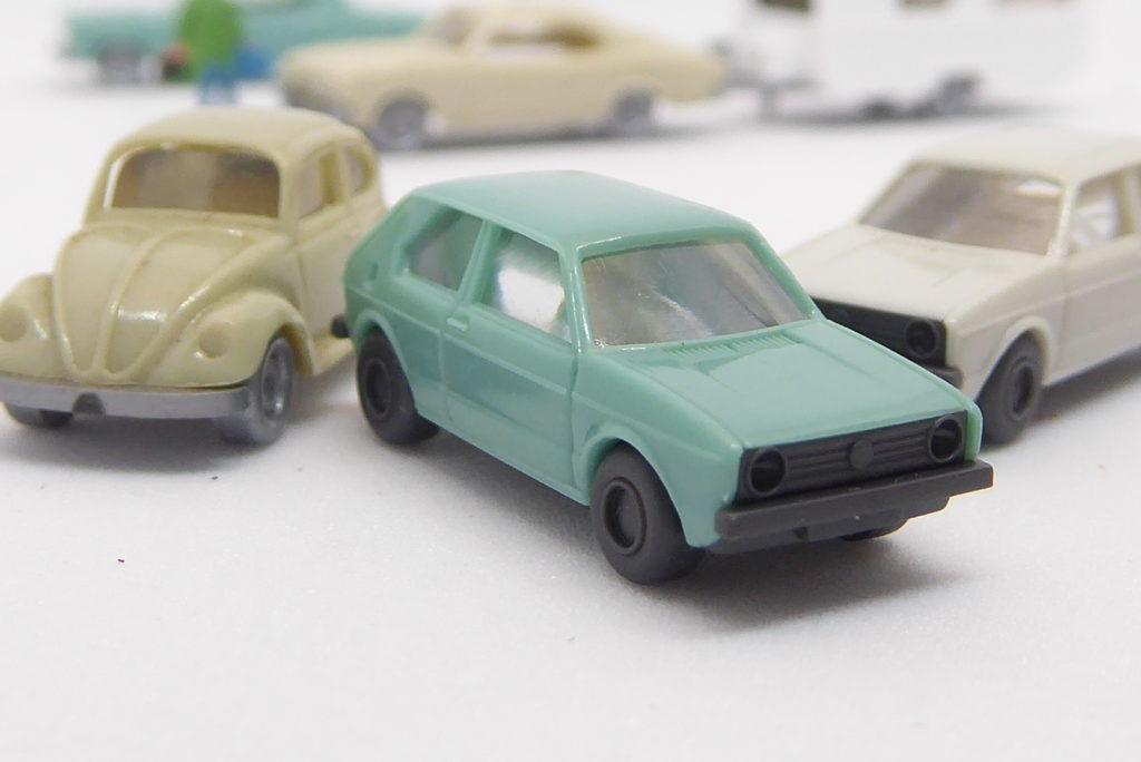 VW Golf close up