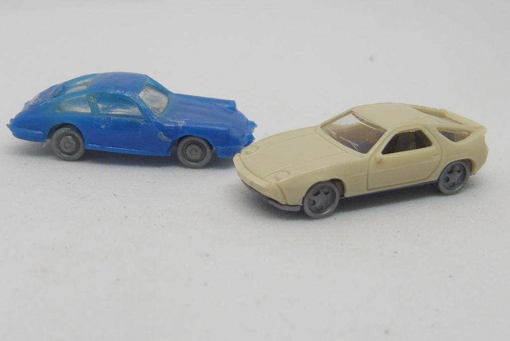 Nice pair of Fleischamann Porsches