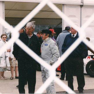 Jackie Stweart & Ken Tyrell